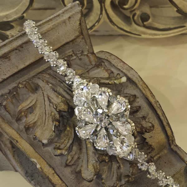 Wedding Hair Chain - Beyond Time - Handmade |