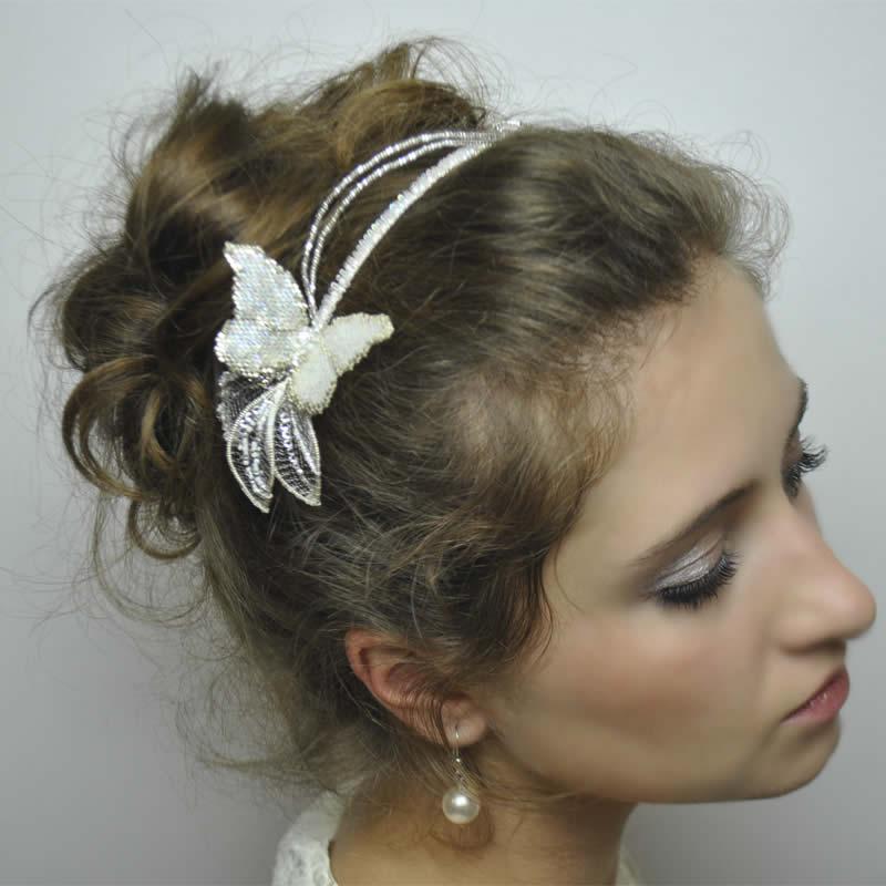 wedding hair bands tiny enamel blossom crystal hair vine bridal hairband acessories wedding headbands hair accessories