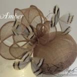 Amber - Pillbox Hat - Fascinator