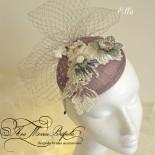 Ella - lace fascinator - mother of the bride